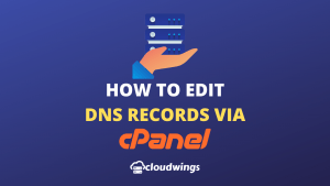 How To Edit DNS Records Via cPanel?